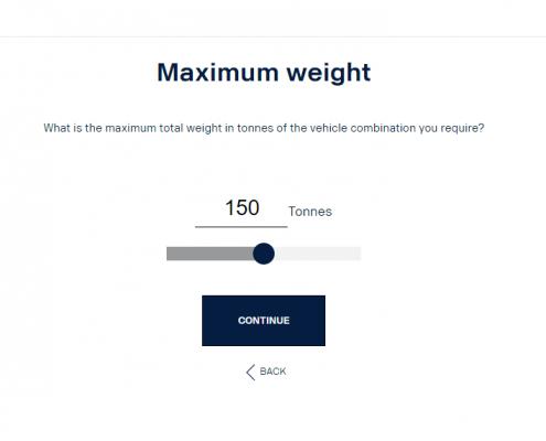 Maximum weight