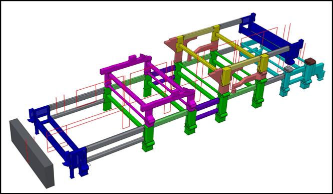 Valmet A modular frame structure
